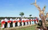 甘泉湖公園落成儀式。(圖源:黃北)