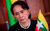 緬甸全國民主聯盟領導人昂山素姬。(圖源:路透社)