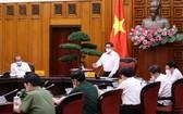 政府總理范明政主持會議。(圖源:越通社)
