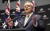 澳大利亞總理莫里森。(圖源:推特)