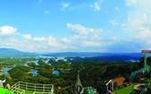 塔董生態旅遊區鳥瞰美好風光。