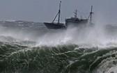 6月3日上午,東海出現今年首股颱風。(示意圖源:互聯網)