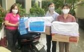 第十一郡婦聯會為舊邑郡抗疫接力