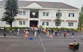 圖為林同省公安廳業務培養培訓中心的集中隔離區。(圖源:林園)