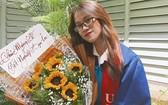宋慶玲剛畢業就找到符合的工作。
