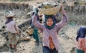 緬甸的童工。(圖源:聯合國)