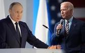俄羅斯總統普京(左)與美國總統拜登。(圖源:互聯網)