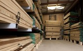 圖為拼木板產品。