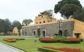 昇龍皇城遺產區一隅。(圖源:垂楊)