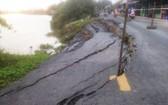 坍塌現場。(圖源:安江新聞網)