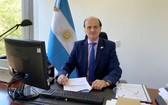 阿根廷駐越大使貝爾特拉米諾。(圖源:阿根廷駐越大使館)