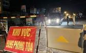 平陽省新淵市新福慶坊被封鎖。(圖源:KD)