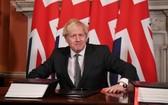 英國脫離歐盟後把加入CPTPP定位為貿易政策的支柱。圖為英國首相約翰遜。(圖源:路透社)
