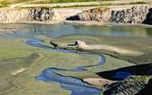 美加州遭遇乾旱天氣聖蓋博水庫乾涸見底。(圖源:互聯網)