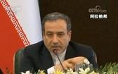 伊朗外交部副部長、首席核談代表阿拉格希。(圖源:CCTV視頻截圖)