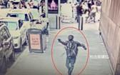 27日下午,一男子在紐約時報廣場開槍。 (圖源:監控視頻截圖)
