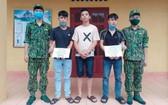 被抓獲的3名涉案嫌犯。(圖源:何清)