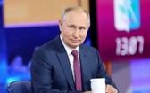 """俄羅斯總統普京稱他已接種俄羅斯的""""衛星V""""新冠疫苗。 (圖源:路透社)"""