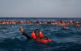 一艘民船在突尼斯海域沉沒致 43 人失蹤。(圖源:互聯網)