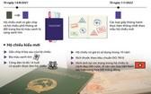 按規定,凡滿足年齡規定,公民有權獲簽發電子晶片普通護照。(圖源:越通社)