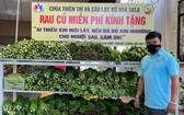張黃江贈送的蔬菜豐富多樣,為人民的三餐補充營養。