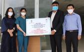 印度總領事館贈送防疫物資
