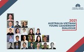 """22名越澳年輕領導幹部將於今年9月參與""""2021年澳─越年輕領導對話""""。(圖源:AVLD)"""