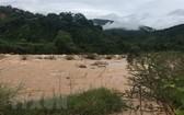 萊州省芒齊縣巴塢鄉稔滾泉的水位開始上漲。(圖源:越通社)