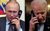 普京與拜登通電話。(示意圖源:互聯網)