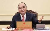 國家主席阮春福與羅馬尼亞總統電談