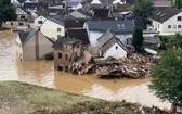 德國西部萊茵蘭-普法爾茨州遭遇暴雨洪水。(圖源:互聯網)