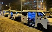 西貢Medic診所的救護車用於運送新冠肺炎確診病例。