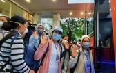 志願者前往野戰醫院執行任務。(圖源:淮南)