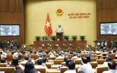 國會副主席阮德海調度會議。