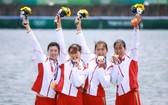 中國女子四人雙槳刷新世界最好成績