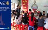 國際扶輪為本市第二郡貧困學生開設的學習班。(圖源: Rotary International)