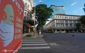 圖為本市大戲院附近的同起街。(圖源:VnE)