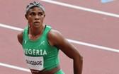 尼日利亞的短跑選手布萊辛-奧卡巴雷。(圖源:AFP)
