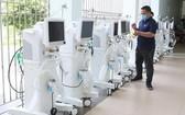 數百台現代醫療設備預計今(2)日晚上9時左右,將抵達本市第16號野戰醫院。(圖源: 草原)