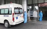 115衛星急救中心將病人運送到175軍醫醫院急救。