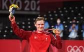 丹麥安賽龍奧運羽球男單奪金