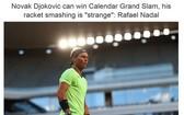 納達爾批德約奧運扔球拍。(圖源:互聯網)