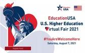 美國大學線上教育展將於8月7日舉辦。(圖源:網站截圖)