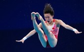 14 歲全紅蟬跳水女子10 米台摘金