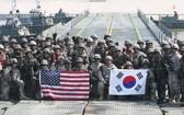 韓國國防部發言人夫勝粲5日在例行記者會上表示,韓美國防部正在對下半年聯合軍演的時間、規模和形式等細節進行協調溝通。(示意圖源:路透社)