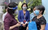市領導探望受疫情影響民戶