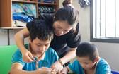 張老師和她的學生們。