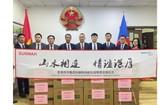 新華集團通過越南駐昆明總領事館捐贈抗疫物資是支持越南抗疫的實際行動。