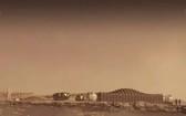 圖為阿爾法火星山丘示意圖。(圖源:AP)