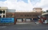 第八郡野戰醫院大門一瞥。(圖源:Q.L)